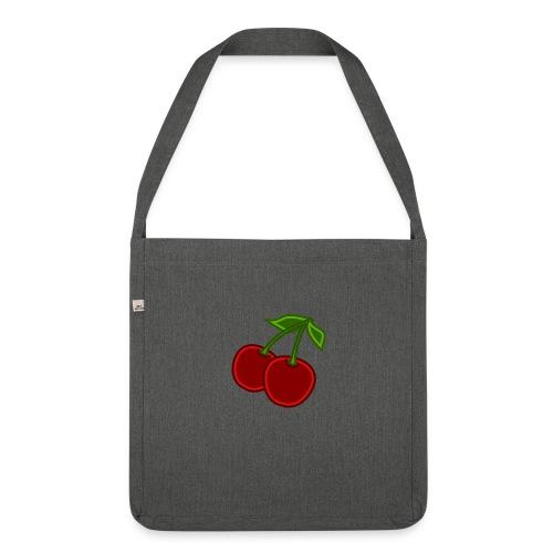 cherry - Torba na ramię z materiału recyklingowego