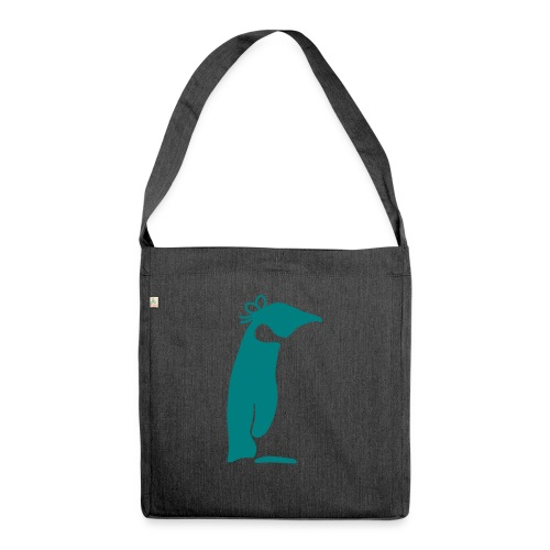 Pinguin solo - Schultertasche aus Recycling-Material