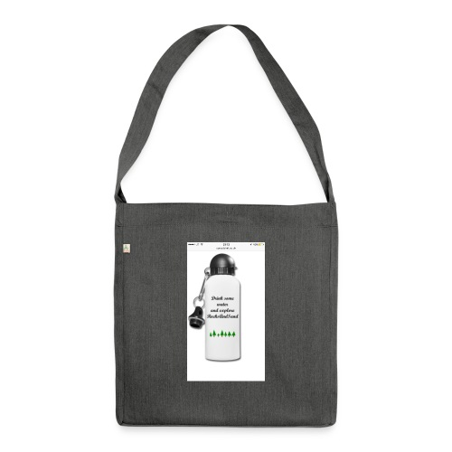 RocksAndSand adventure bottle - Shoulder Bag made from recycled material