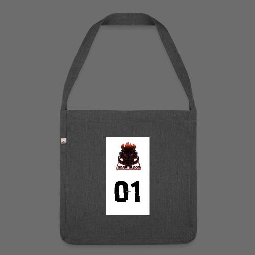 Boar blood 01 - Torba na ramię z materiału recyklingowego