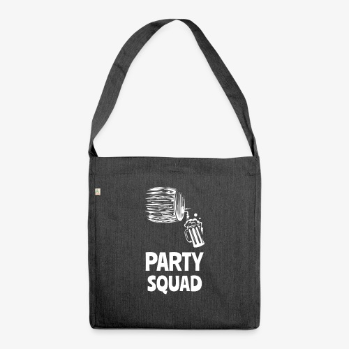 Lustiges Party Shirt I Funny Party Shirt - Schultertasche aus Recycling-Material
