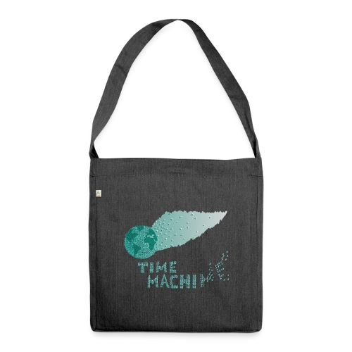 Time Machine - Schultertasche aus Recycling-Material
