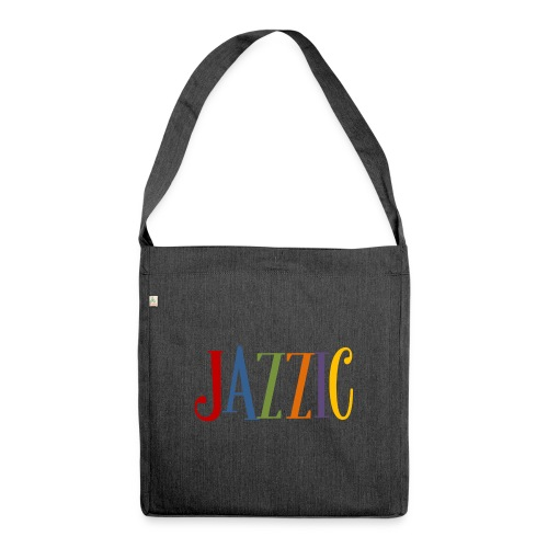 Jazzic Logo - Schultertasche aus Recycling-Material