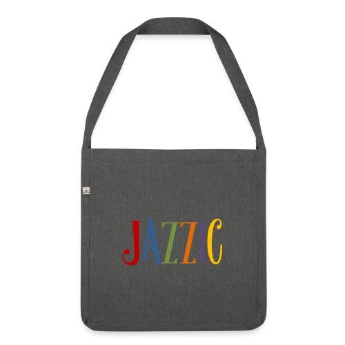 Jazzic Logo - Schultertasche aus Recycling-Material