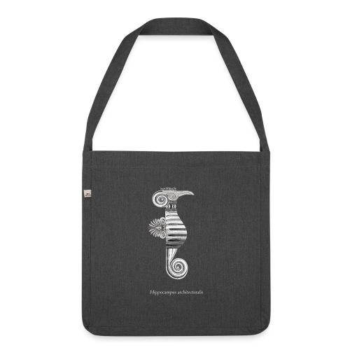 hippocampus architecturalis (épuré) - Sac bandoulière 100 % recyclé