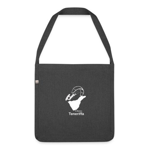 Kitesurfer Teneriffa - Schultertasche aus Recycling-Material