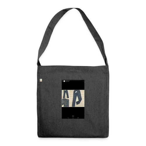 Allowed reality - Shoulder Bag made from recycled material