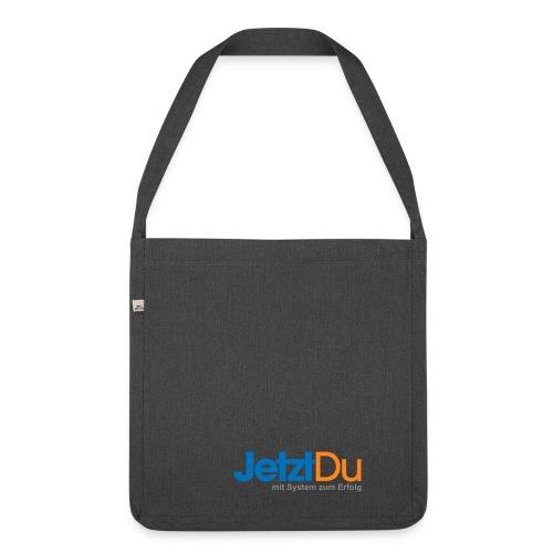 JetztDuLogo ArtWork1 - Schultertasche aus Recycling-Material