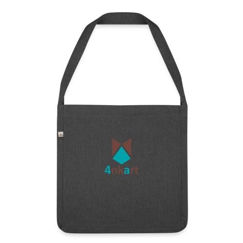 logo 4nkart - Sac bandoulière 100 % recyclé