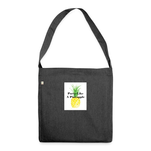 Party like A Pineapple tas - Schoudertas van gerecycled materiaal
