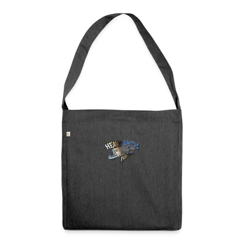 Predator fishing - Schultertasche aus Recycling-Material