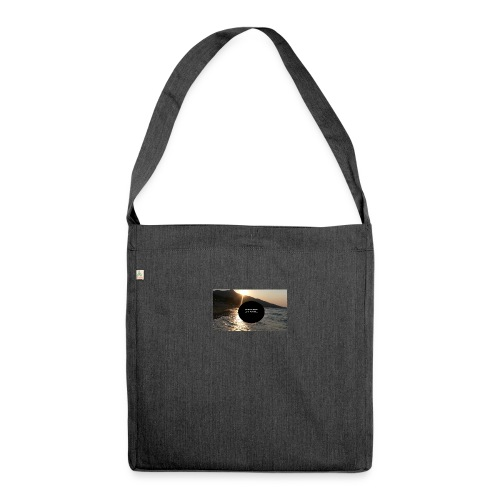 Mousepad - Schultertasche aus Recycling-Material