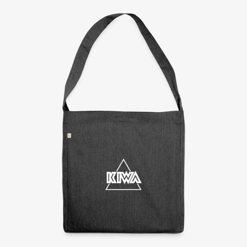 KIWA Logo Minimal - Shoulder Bag made from recycled material