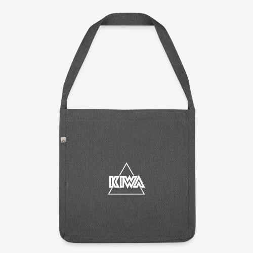 KIWA Logo Minimal - Shoulder Bag made from recycled material