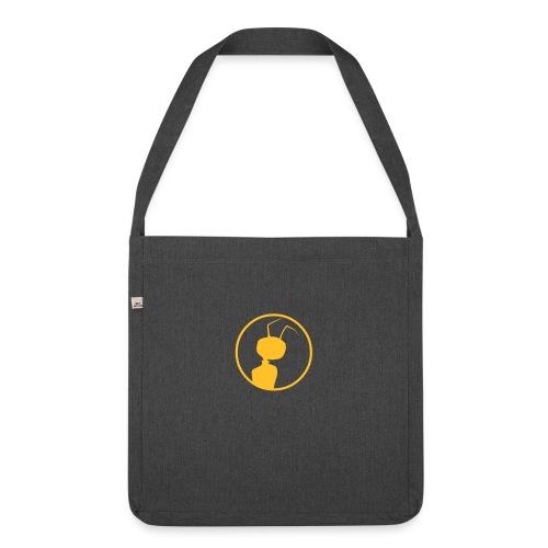 Andi Meisfeld - Ameisen Retro Tasche - Schultertasche aus Recycling-Material