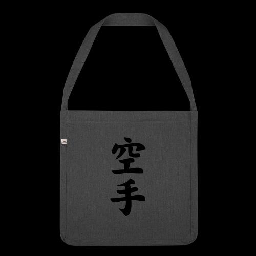 karate - Torba na ramię z materiału recyklingowego