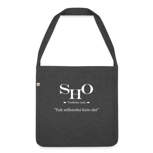 SHO - Tule sellaiseksi kuin olet - Olkalaukku kierrätysmateriaalista