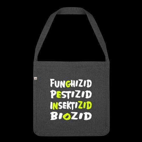 genozid - Schultertasche aus Recycling-Material