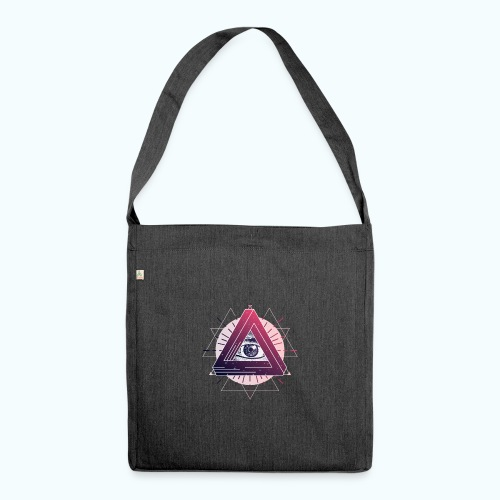 All Seeing Eye - Shoulder Bag made from recycled material