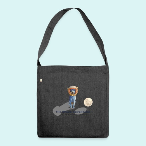 The Space Adventure - Shoulder Bag made from recycled material