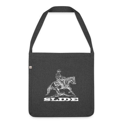 Sliding Stop Westernreiter Reining - Schultertasche aus Recycling-Material