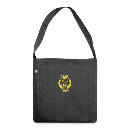 Lean Lions Merch - Shoulder Bag made from recycled material