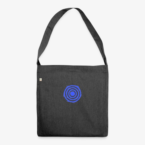 Shooting Target - Shoulder Bag made from recycled material