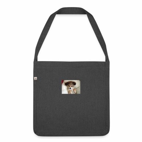 dog - Torba na ramię z materiału recyklingowego