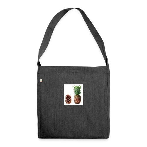 Pineapple - Shoulder Bag made from recycled material