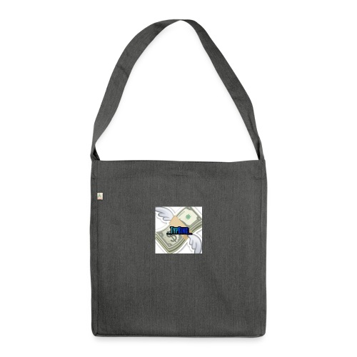 Money is strong - Shoulder Bag made from recycled material
