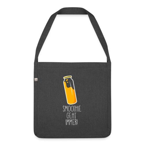 SMOOTHIE GEHT IMMER - Schultertasche aus Recycling-Material