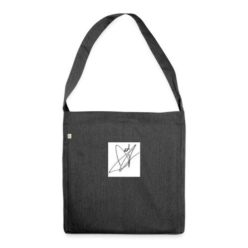 Tshirt - Shoulder Bag made from recycled material