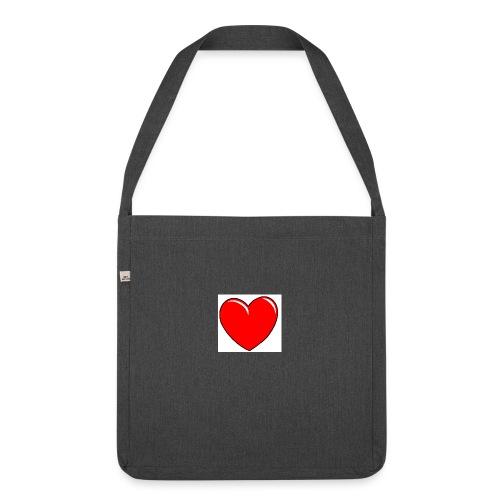 Love shirts - Schoudertas van gerecycled materiaal