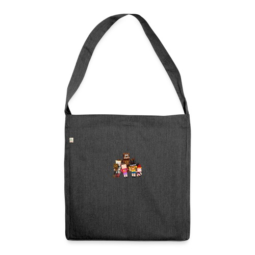 Withered Bonnie Productions - Meet The Gang - Shoulder Bag made from recycled material