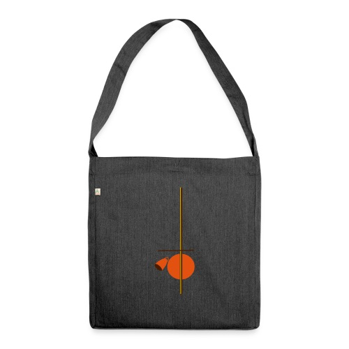 berimbau caxixi - Shoulder Bag made from recycled material