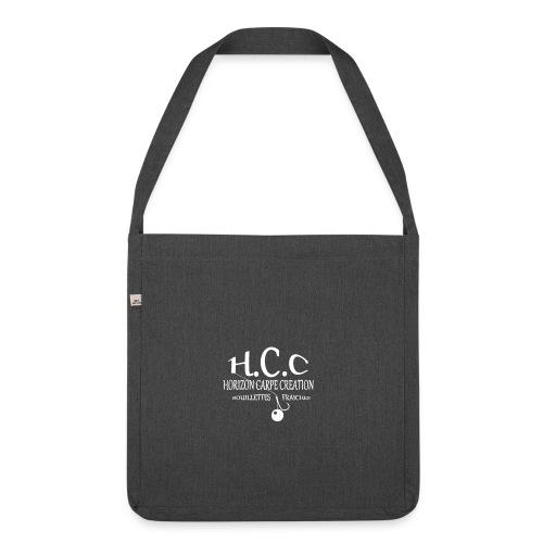 logo hcc - Sac bandoulière 100 % recyclé
