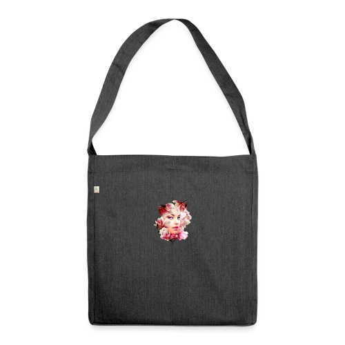 magnolia girl - Shoulder Bag made from recycled material