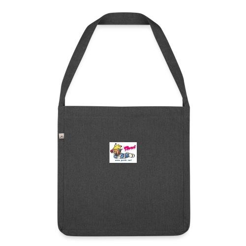 panki sticker neu - Schultertasche aus Recycling-Material