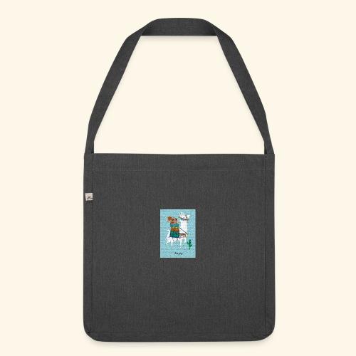 Lama Gang - Schultertasche aus Recycling-Material