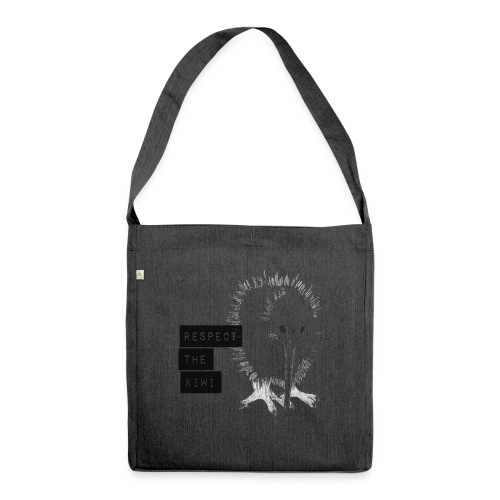 Respect the Kiwi - Schultertasche aus Recycling-Material