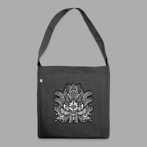 soulmate black - Shoulder Bag made from recycled material