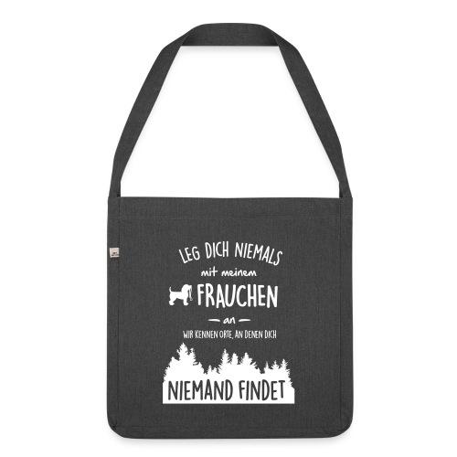 Vorschau: Mein Frauchen - Schultertasche aus Recycling-Material