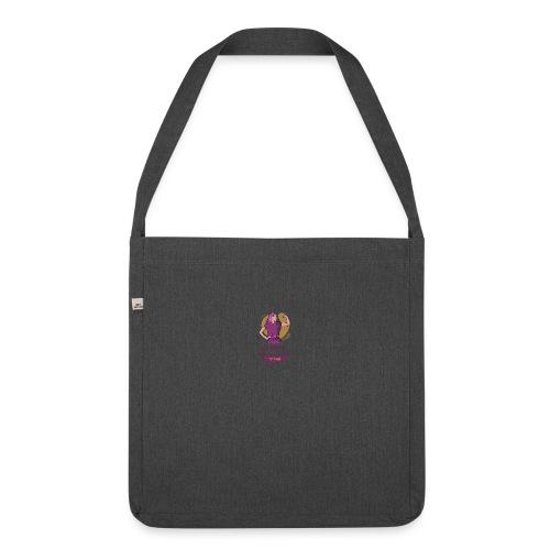 t shirt design generator featuring an empowered - Bandolera de material reciclado