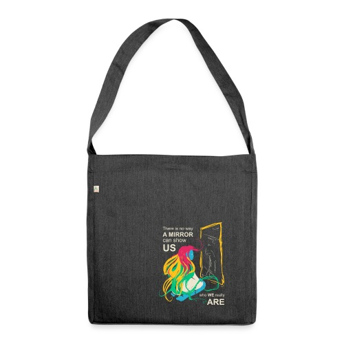 Mirrors - Shoulder Bag made from recycled material