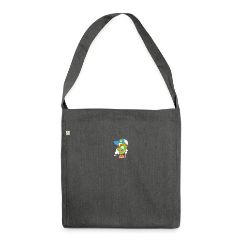 Ptb Skullhead 2 - Shoulder Bag made from recycled material