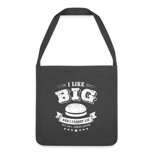 I Like Big Buns Shirt - Schultertasche aus Recycling-Material