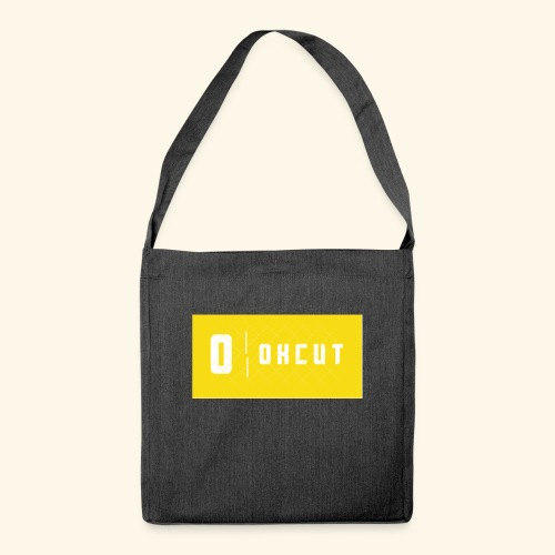 okcut - Bandolera de material reciclado