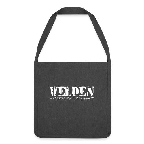 WELDEN_NE - Schultertasche aus Recycling-Material