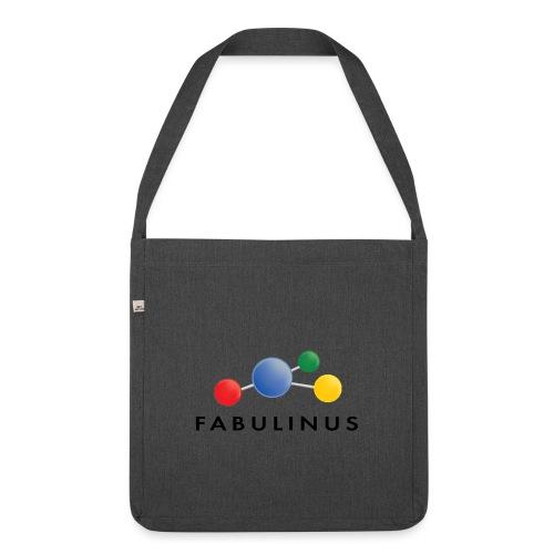 Fabulinus logo dubbelzijdig - Schoudertas van gerecycled materiaal