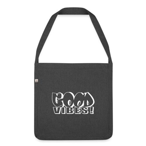 Good Vibes - Skuldertaske af recycling-material